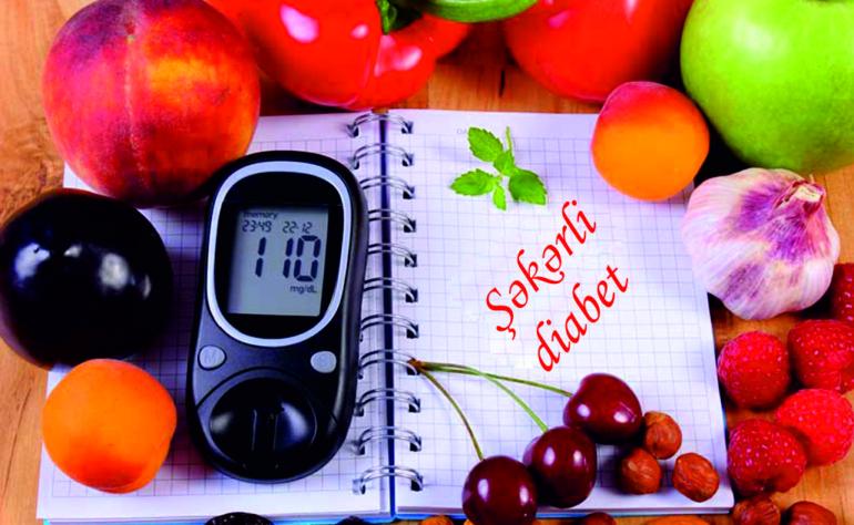 Şəkərli diabet zamanı düzgün qidalanma
