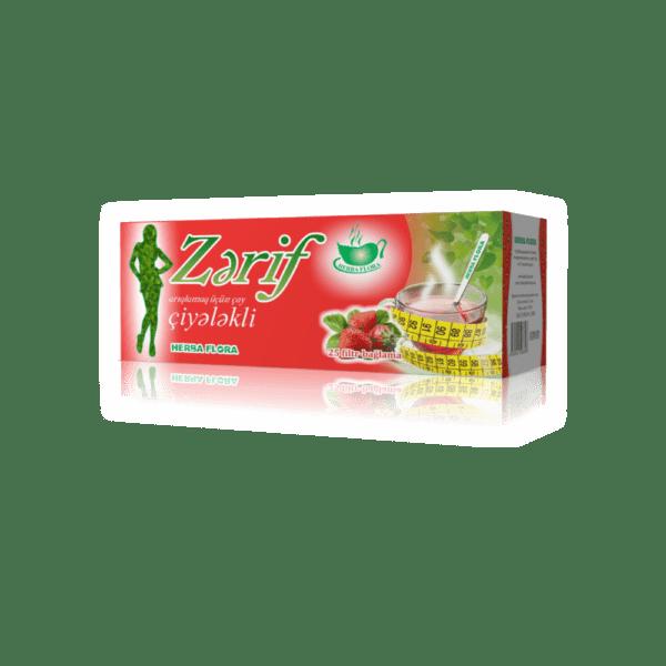 zerif ciyelekli arıqlama çayı