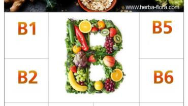B-qrup vitamin kompleksi.